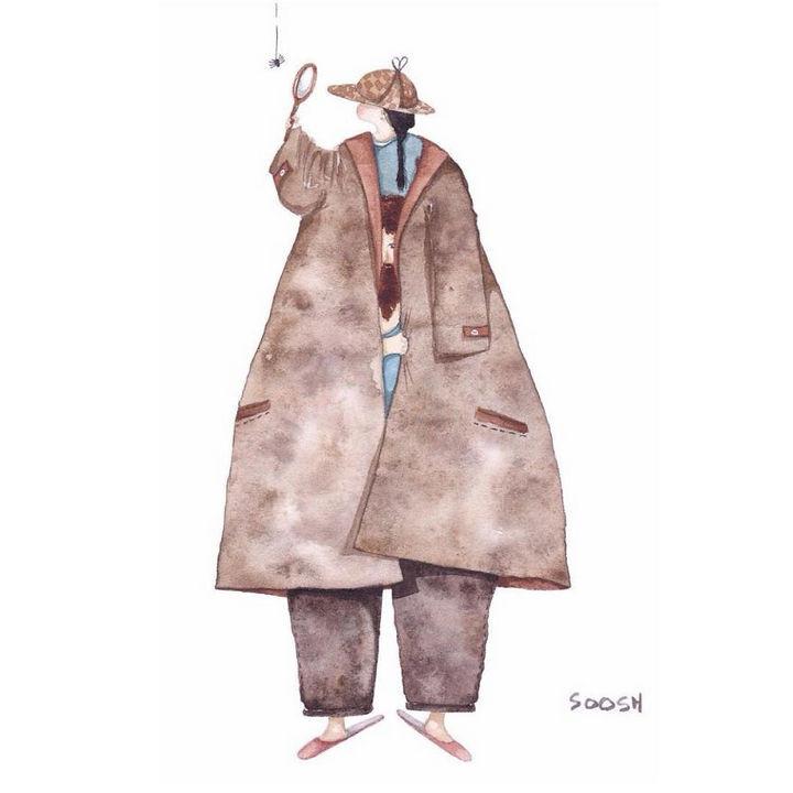 221b Baker Street by Snezhana Soosh.