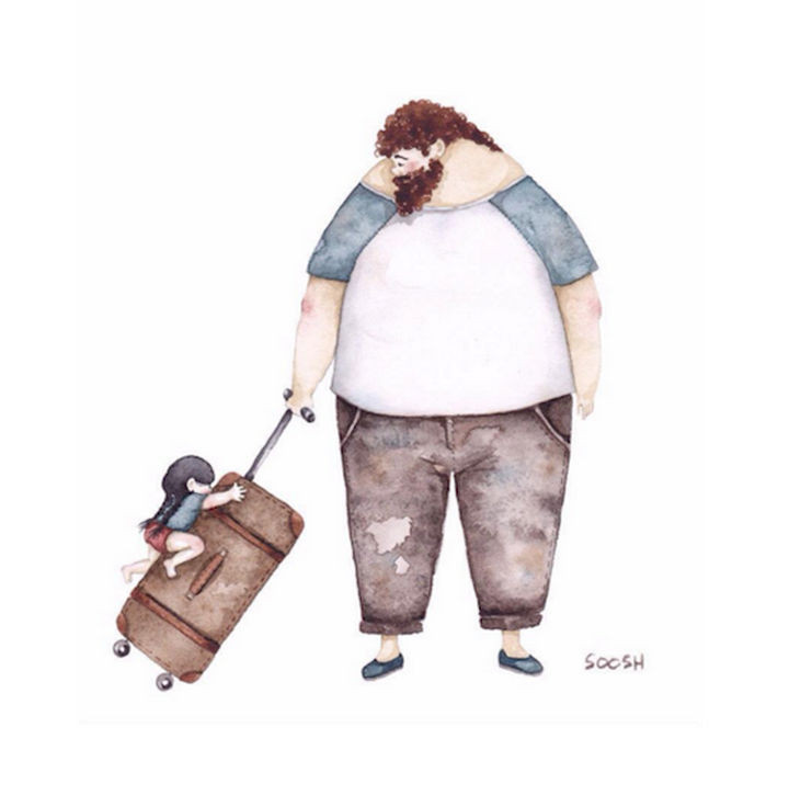 Baggage overweight by Snezhana Soosh.
