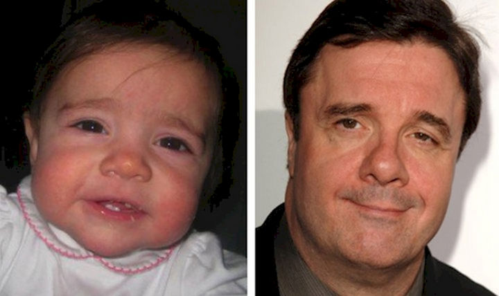 13 Babies That Resemble Celebrities or Something Else - I didn't know Nathan Lane had a mini-me?