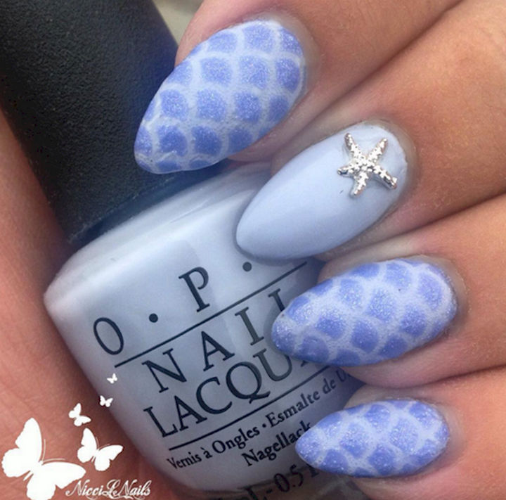 13 Mermaid Nails That Are As Beautiful As The Ocean