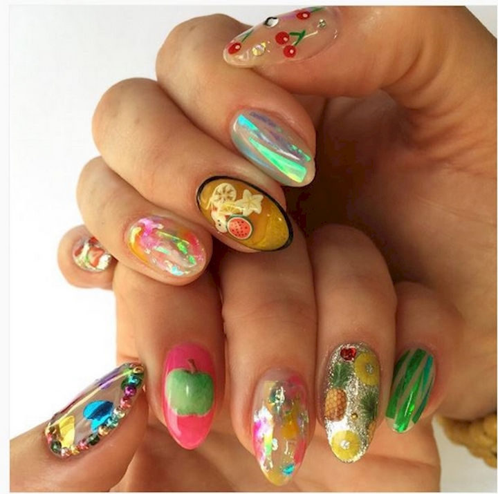 17 Fruit Nails - These nails look fruitastic!