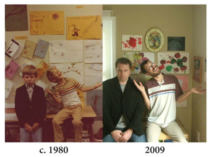 23 Then Now Photos - 29 years later, they are still BFF.