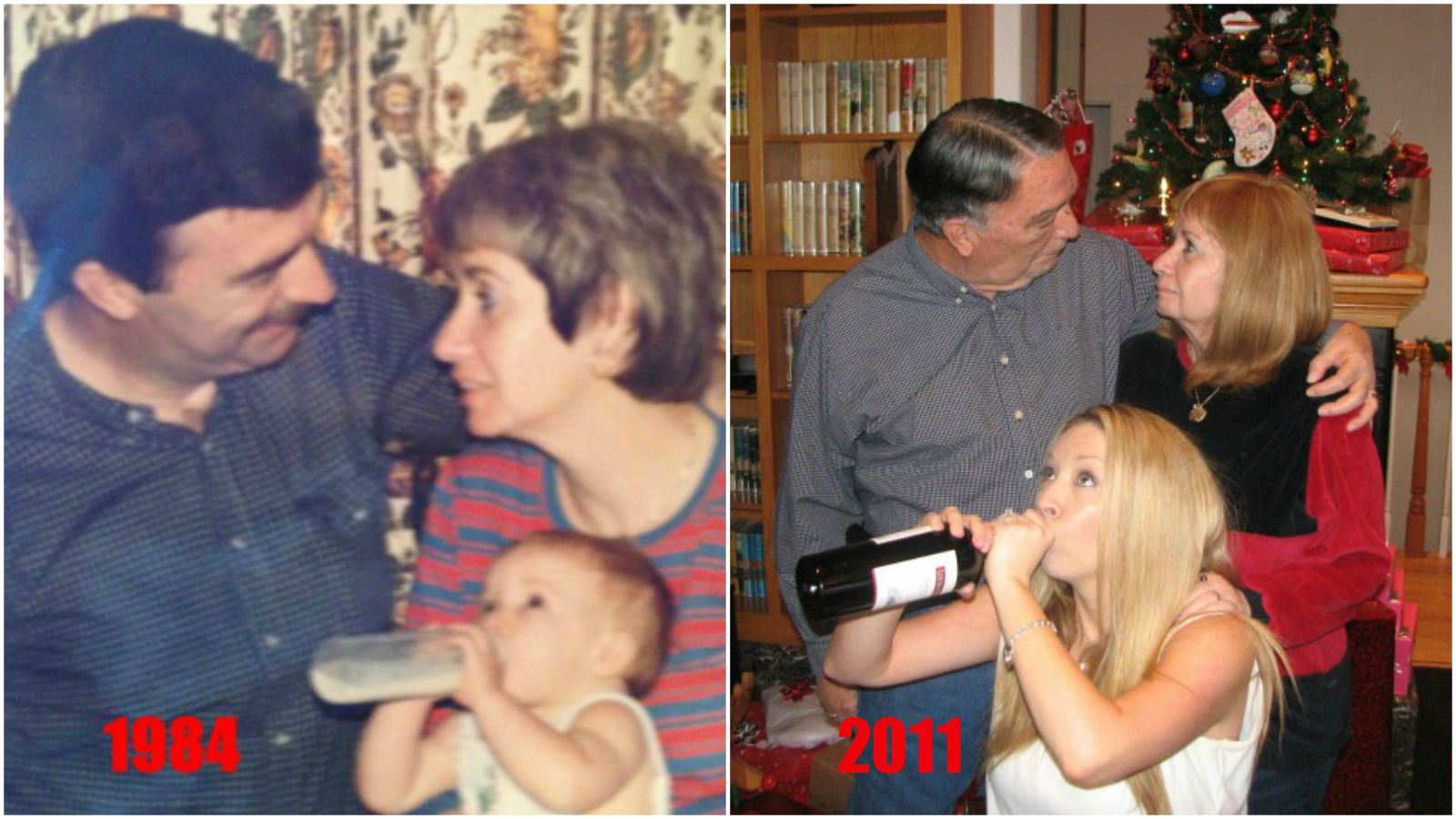 """23 """"Then and Now"""" Photos That Will Make You Smile"""