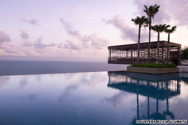 35 Epic Swimming Pools From Around the World - Alila Uluwatu resort in Bali, Indonesia.