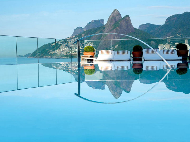 35 Epic Swimming Pools From Around the World - Hotel Fasano in Rio de Janeiro