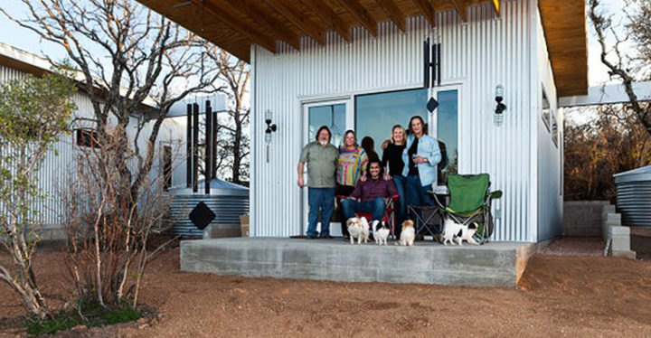 Group of Best Friends Build Homes on Shared Lot.
