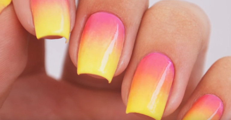 a8ea06b2a9 Like Ombre Nails? Create This Super Trendy Design at Home With This Easy  DIY Tutorial!