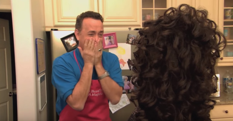 Tom Hanks Toddlers and Tiaras Episode on Jimmy Kimmel.