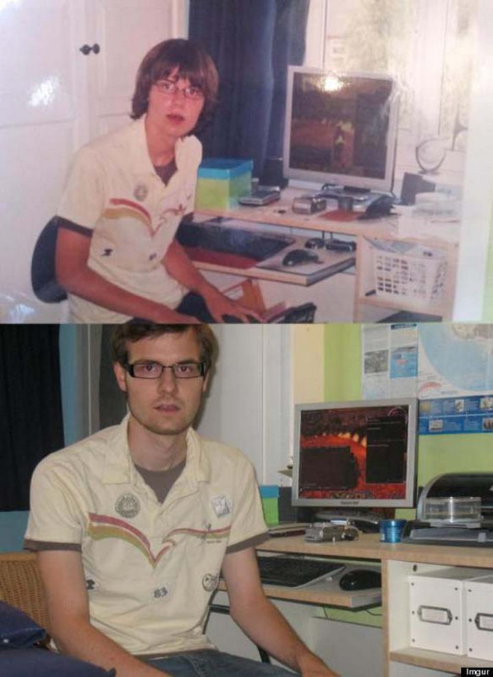 11 Then and Now Photos - Computer nerds rejoice.
