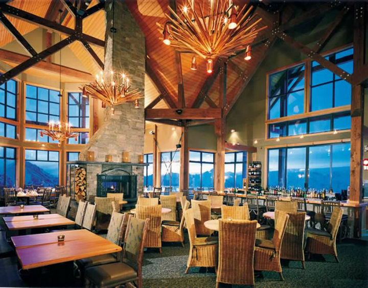 39 Amazing Restaurants With a View - Eagles Eye in Golden, British Columbia, Canada.
