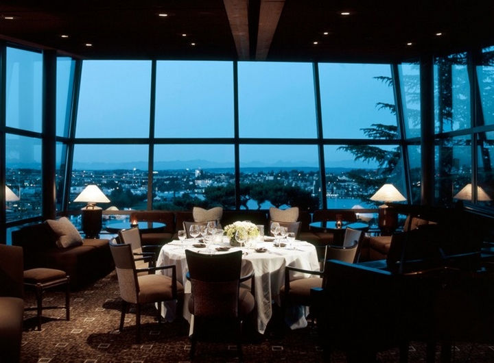 39 Amazing Restaurants With a View - Canlis in Seattle, Washington, USA.