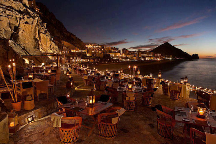 39 Amazing Restaurants With a View - El Farallón in Cabo San Lucas, Mexico.