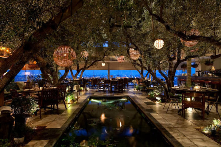 39 Amazing Restaurants With a View - Soho House in West Hollywood, California, USA.