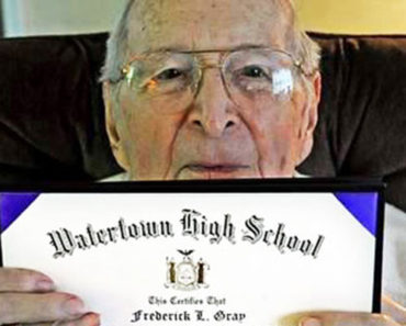 97-Year-Old Veteran Wanted to Accomplish One More Thing. Get His High School Diploma.