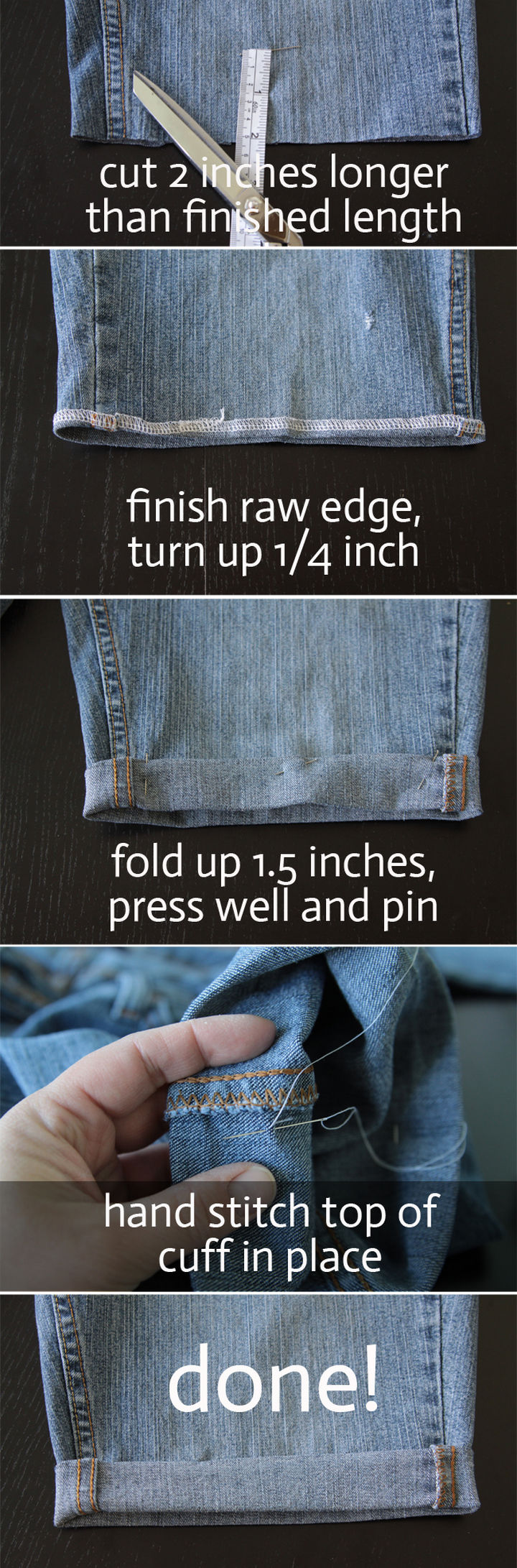 22 Kickass Life Hacks for Girls - Transform old jeans into a pair of shorts in less than 20 minutes!