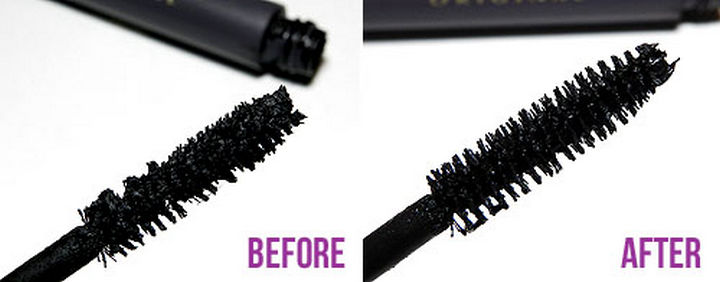 22 Kickass Life Hacks for Girls - Learn how to get the most out of your mascara.