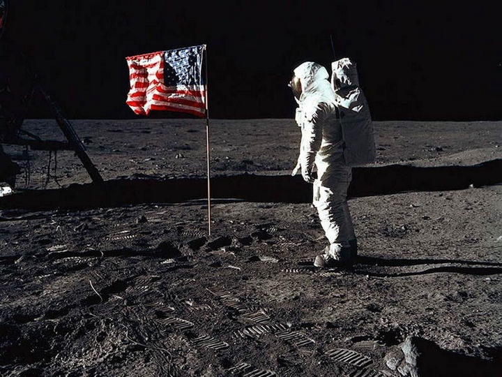 22 Timeless Images - Apollo 11 crew members capture timeless images of mankind's first walk on the moon (July, 1969).