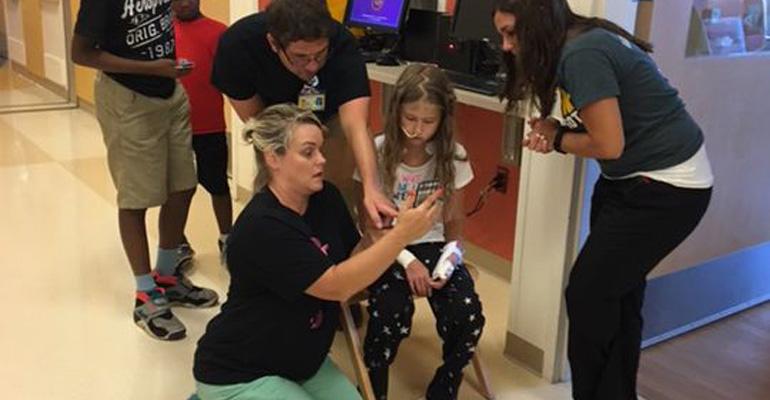 This Children's Hospital Let's Kids Play Pokemon Go.