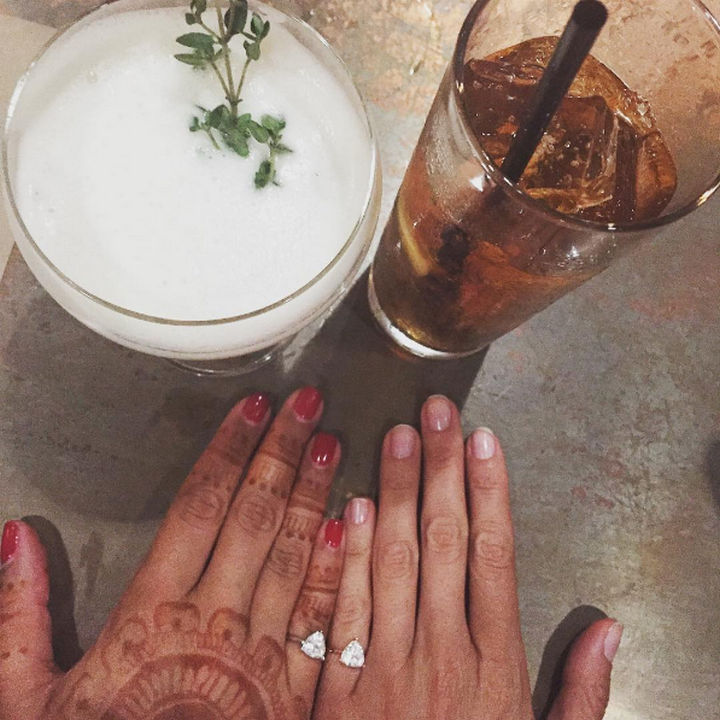 4a3ee5bb3cba1 Personal Engagement Ring Promotes Self Love for Women