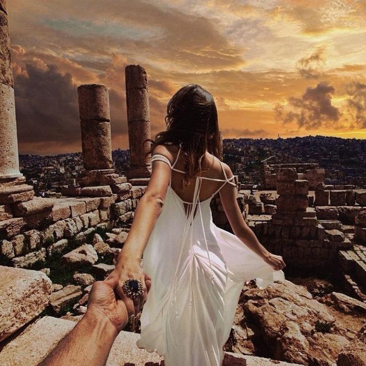 Follow Me To The Amman Citadel, Jordan.