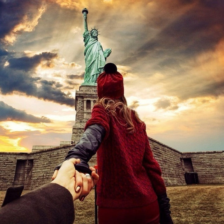 Follow Me To The Statue of Liberty, New York.