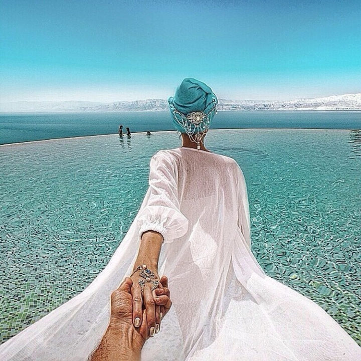 Follow Me To The Dead Sea.