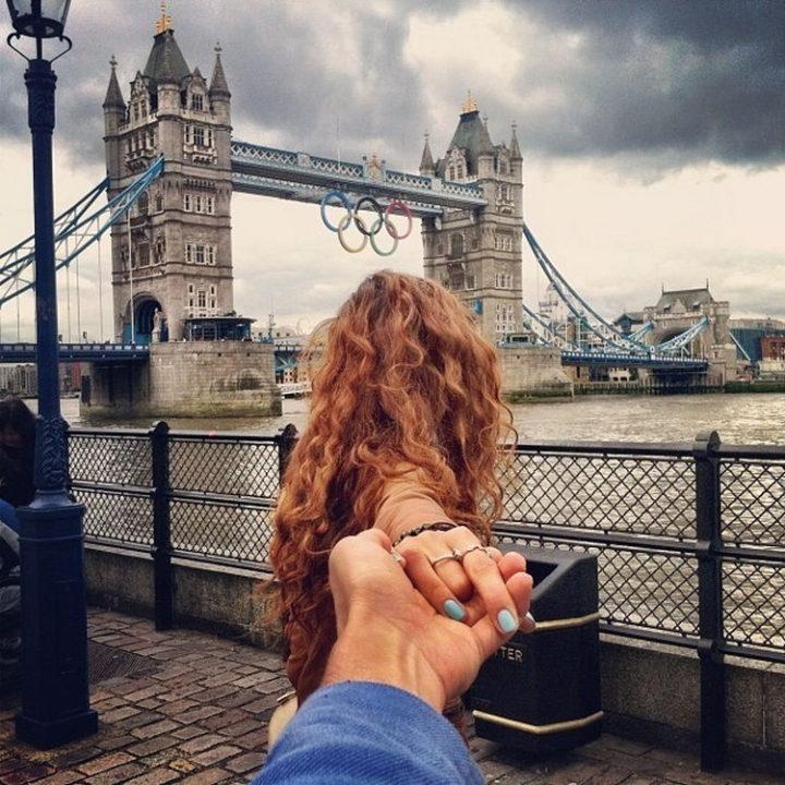 Follow Me To London, England.