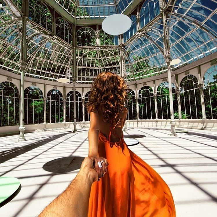 Follow Me To The Palacio de Cristal, Madrid, Spain.