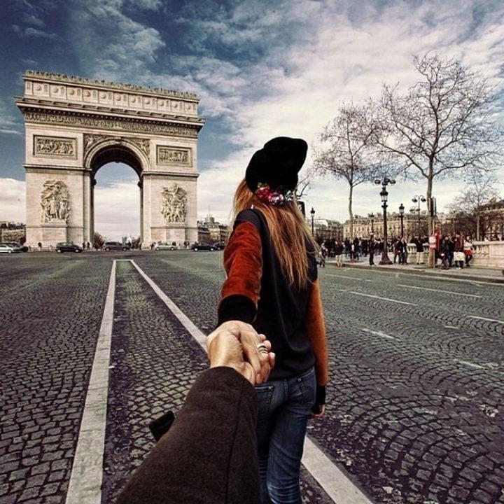 Follow Me To The Arc de Triomphe de l'Étoile, Paris, France.