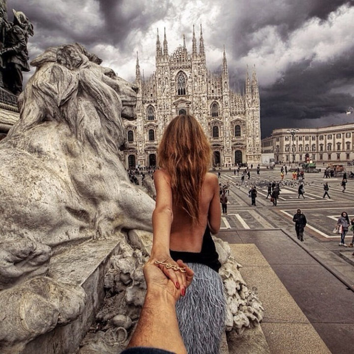 Follow Me To The Piazza del Duomo, Milan.