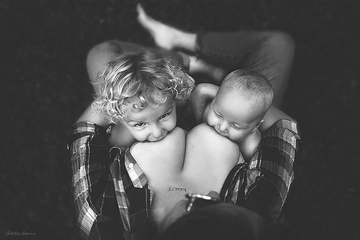 Ivens has also released a book entitled 'Breastfeeding Goddesses'. It features a beautiful collection of images that captures the essence of motherhood.