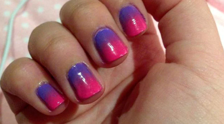 17 Gradient Nails - Looking great with gradient nails.