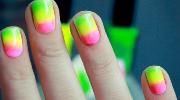 Pastel Summer Neon Gradient: 17 Gradient Nails That Look Incredible For The Summer