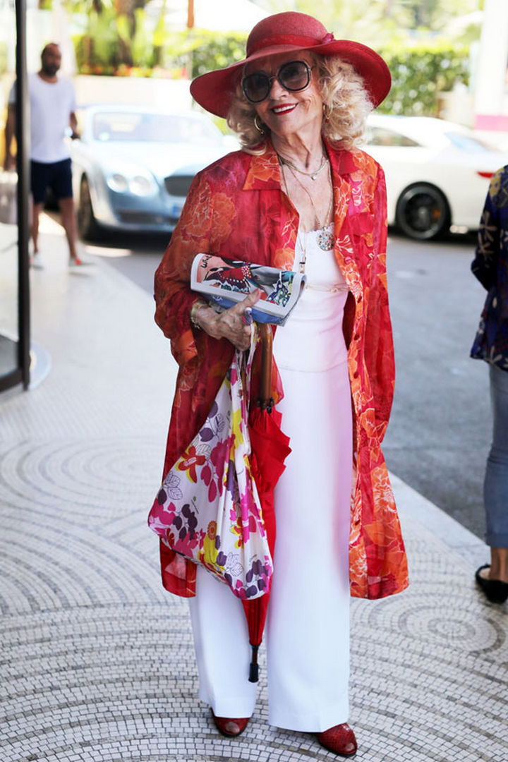 Advanced Style - Ari Seth Cohen has also published a book entitled 'Advanced Style: Older & Wiser.'