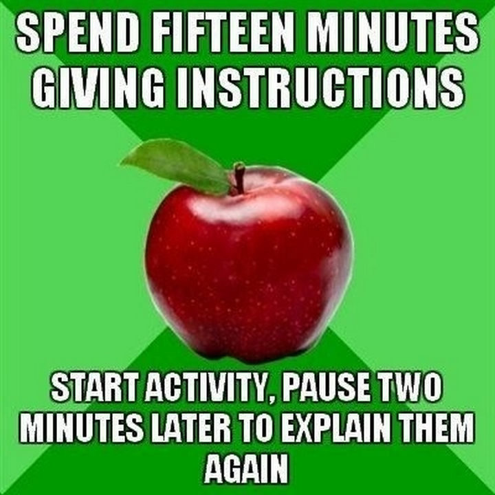 31 Hilarious Back To School Memes - Short attention spans.