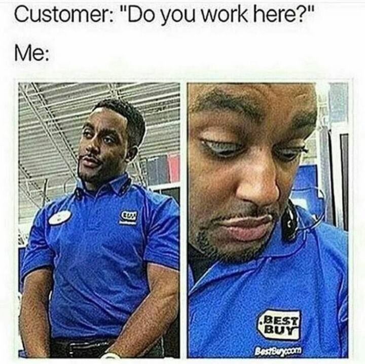 31 Things Only Retails Workers Will Understand - Name tags.