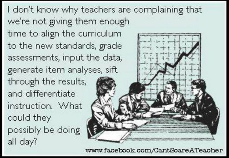 67 Hilarious Teacher Memes - A teacher's work is never done.