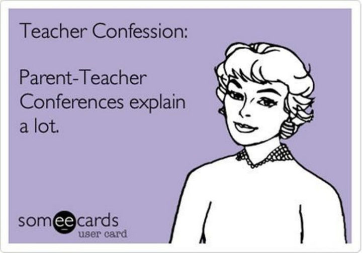 67 Hilarious Teacher Memes - What's that saying about apples and trees?