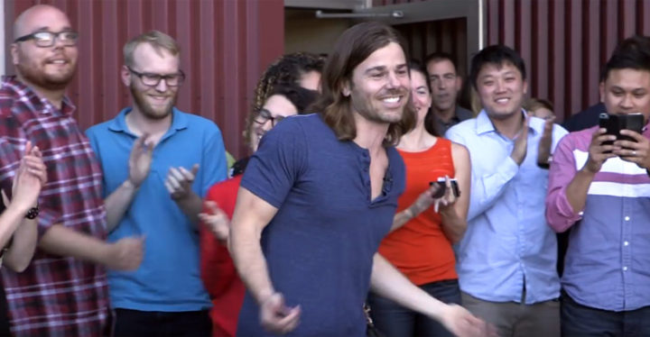 Gravity Employees Buy Tesla Electric Car for Their CEO, Dan Price, After Huge Pay Raise.