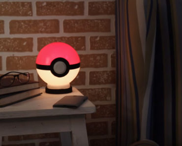 How to Make a DIY Poké Ball Night Lamp.