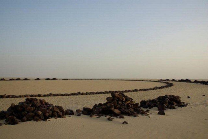 The Ténéré region of the Sahara Desert is one of the most inaccessible places on the planet.