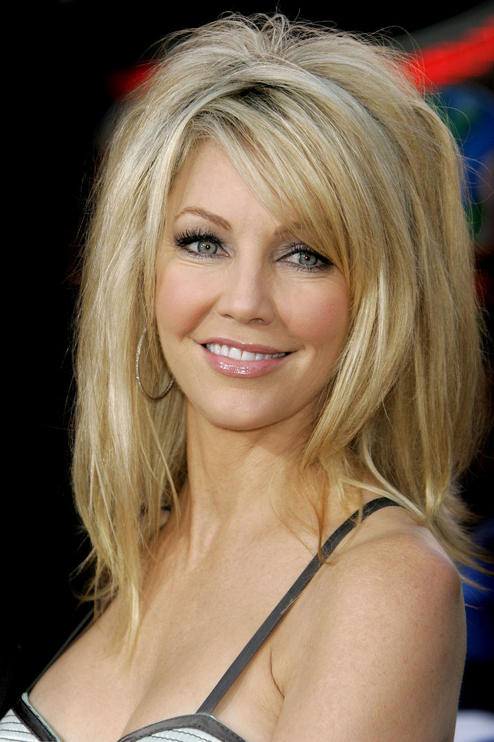 Heather Locklear has appeared in numerous TV roles in the 80s, 90s, and is one of the most recognizable TV actresses ever.