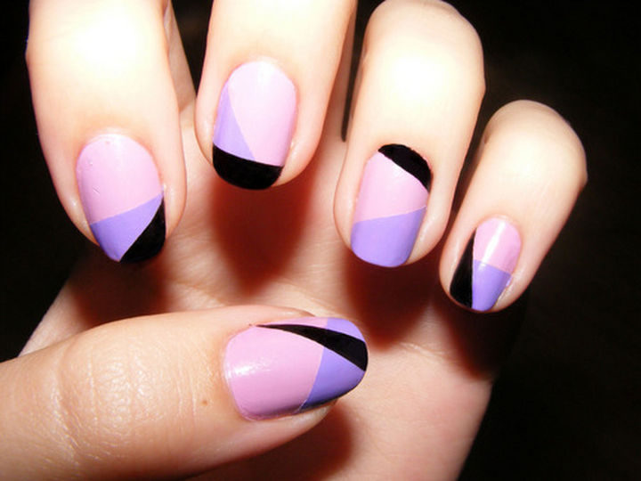 13 Quick and Easy Ways to Save a Chipped Manicure - Cover up chips with a mosaic look.