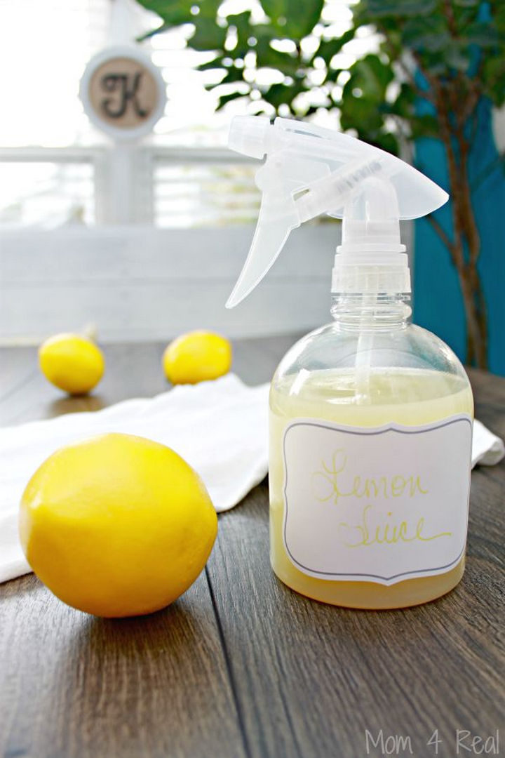 17 Brilliant Clothing Hacks - Clean out sweat stains using only lemon juice.