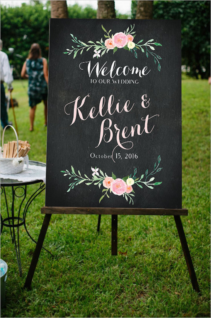 18 Wedding Signs That Are So Perfect - A huge welcome.