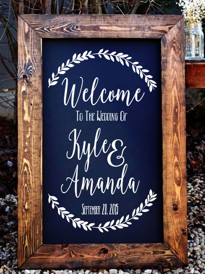 18 Wedding Signs That Are So Perfect - Welcome to the wedding!