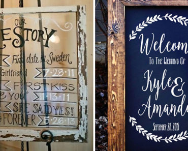 18 Wedding Signs That Are So Perfect You'll Want Them at Your Wedding