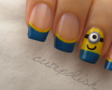 19 Minion Nails That Are Simply Too Adorable. #13 Is Bananas and So Easy!