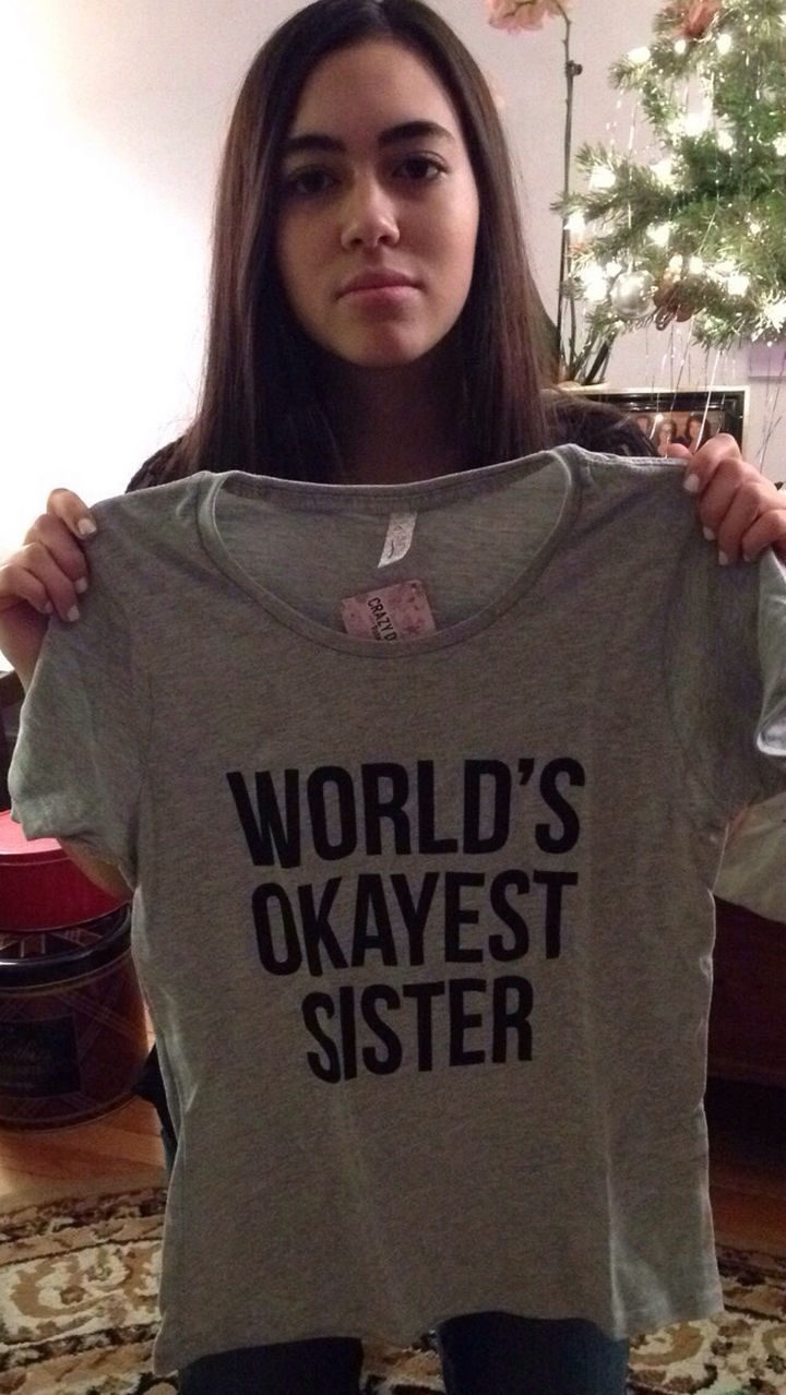19 Photos of Growing Up With Siblings - Siblings always buy the best gifts ever.