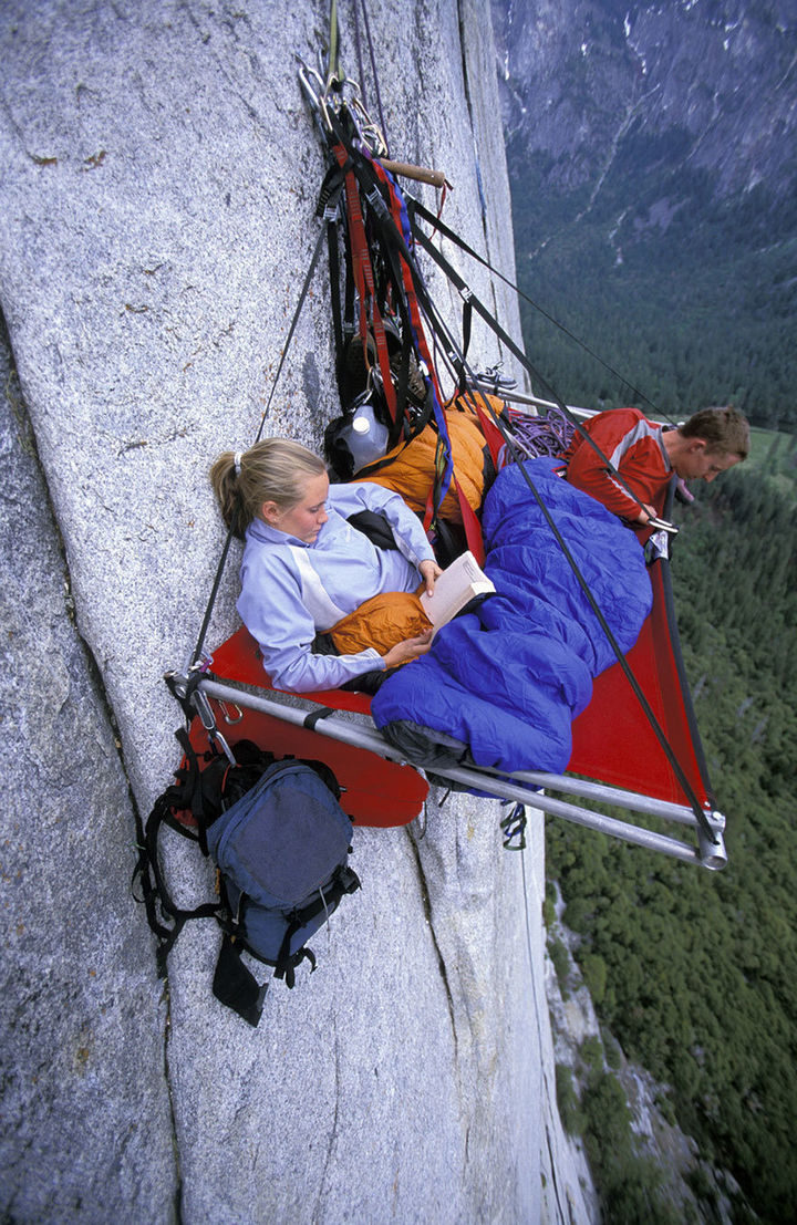 32 People Who Look Fear in the Eyes - It's a long way down!